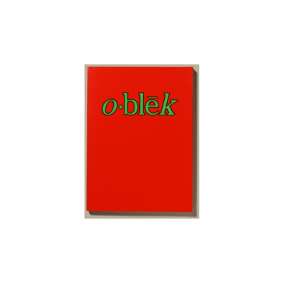 o·blēk 1